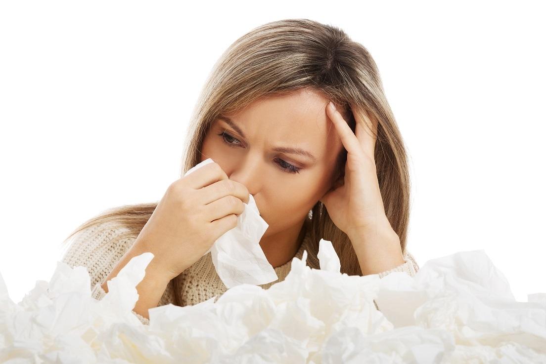 кровь из носа и головная боль