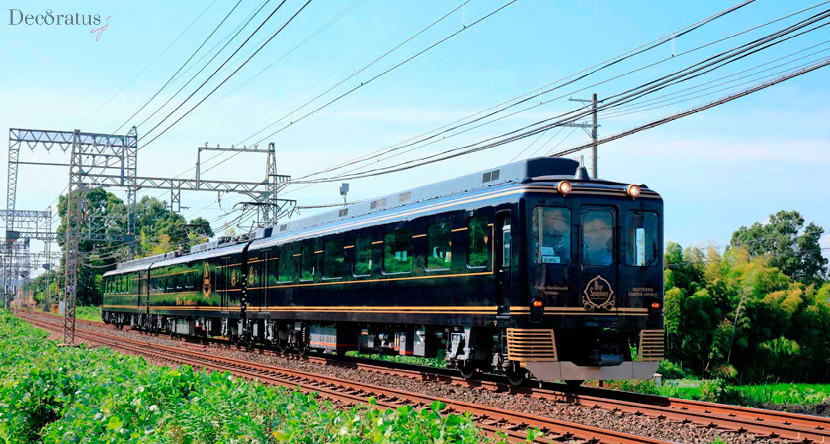Круизный японский ретро-поезд «Нанацубоси»