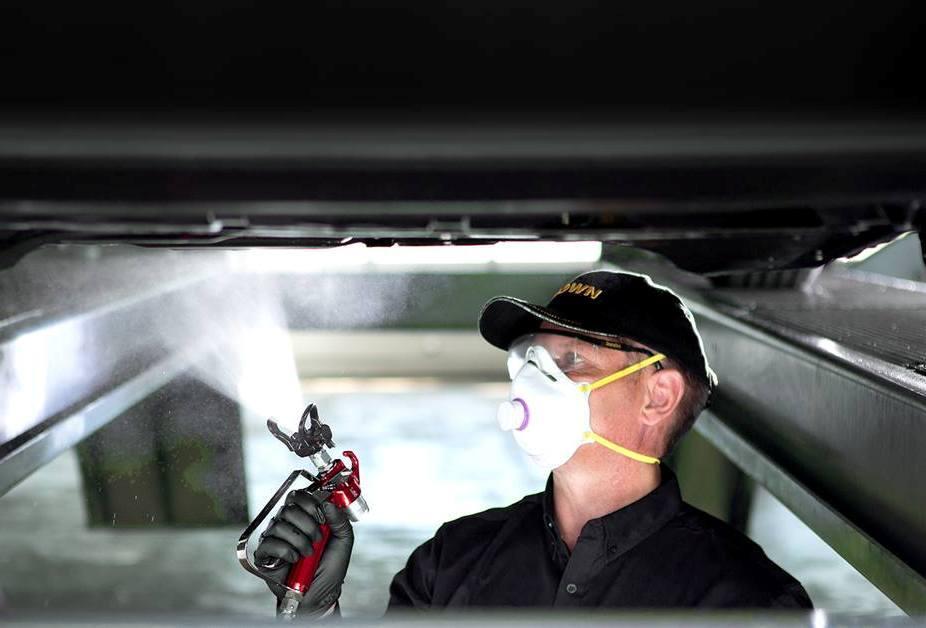 Обработка автомобиля составом Krown,Krown, антикоррозийные средства для автомобиля, антикоррозийная обработка автомобиля, антикор СПб