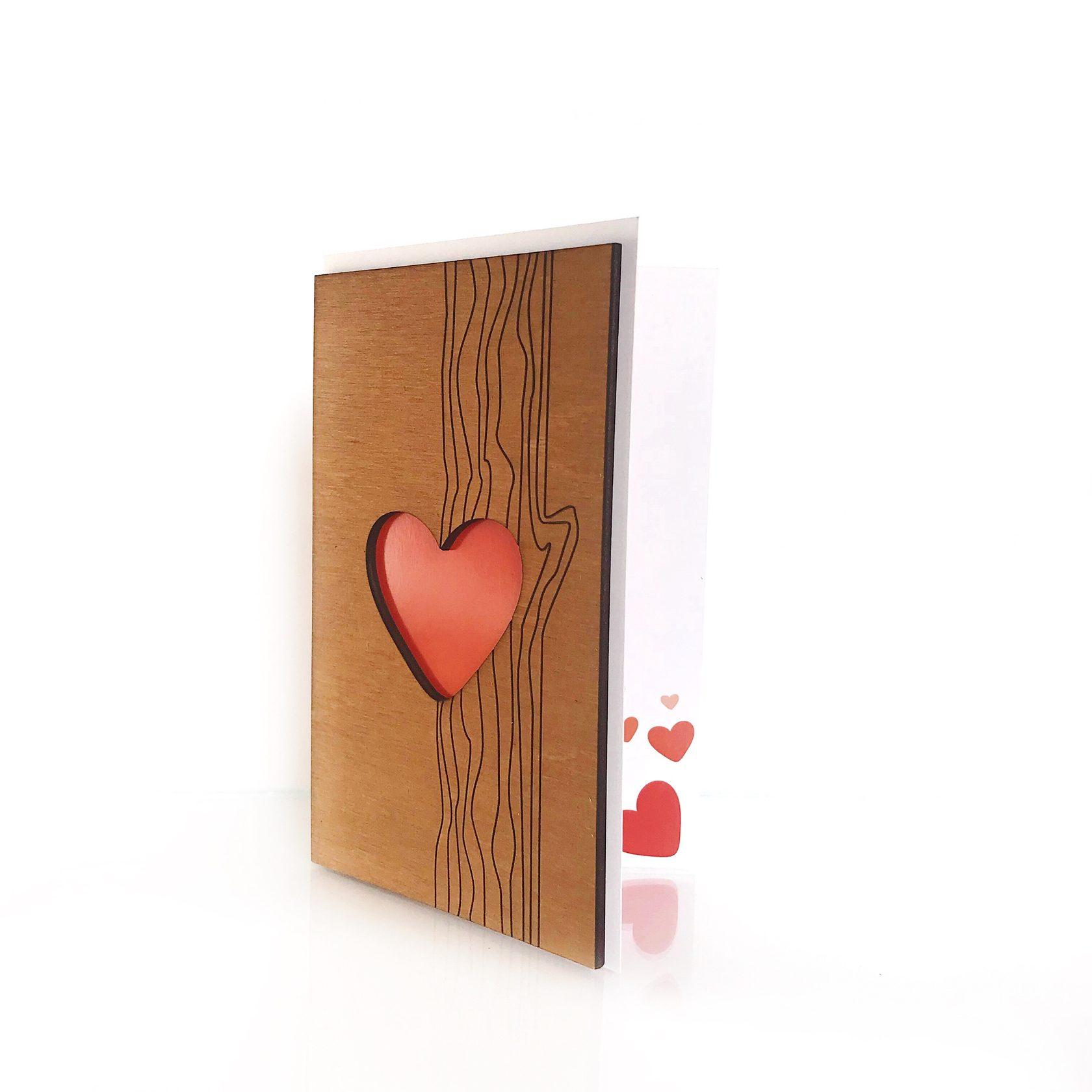 Позитивные открытка, деревянные открытки производители