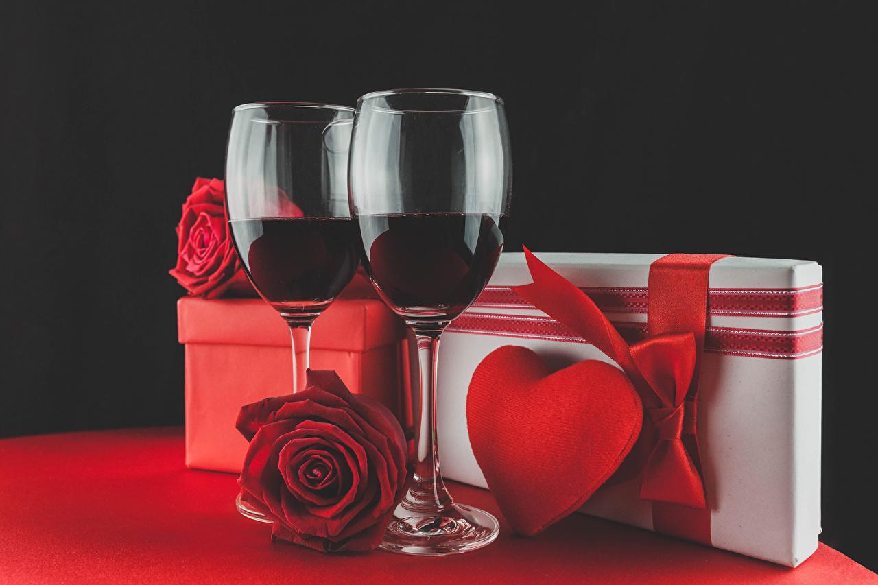 Открытка на день рождения романтические
