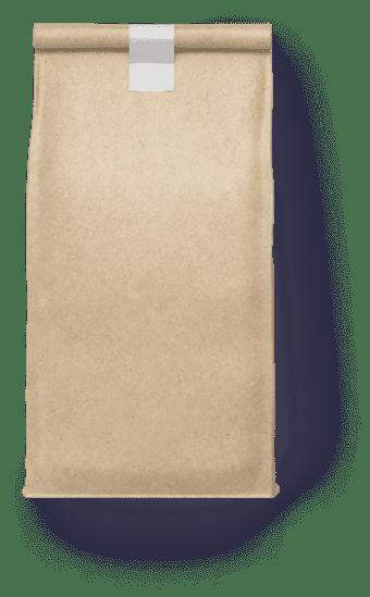 крафтовый бумажный пакет