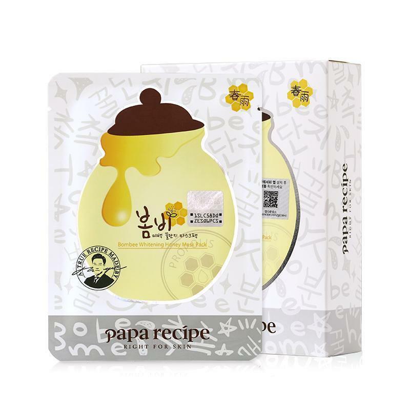 Papa Recipe Bombee Whitening Honey Mask - осветляющая маска с медом