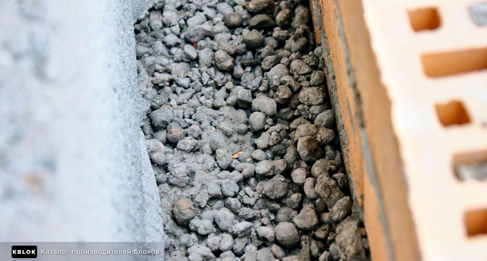 колодезное утепление керамзитобетона кладка стены