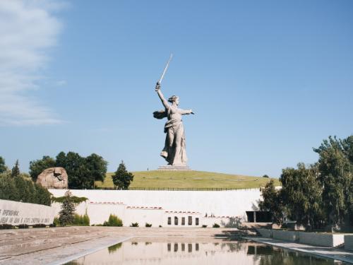 Волгоград в ноябре