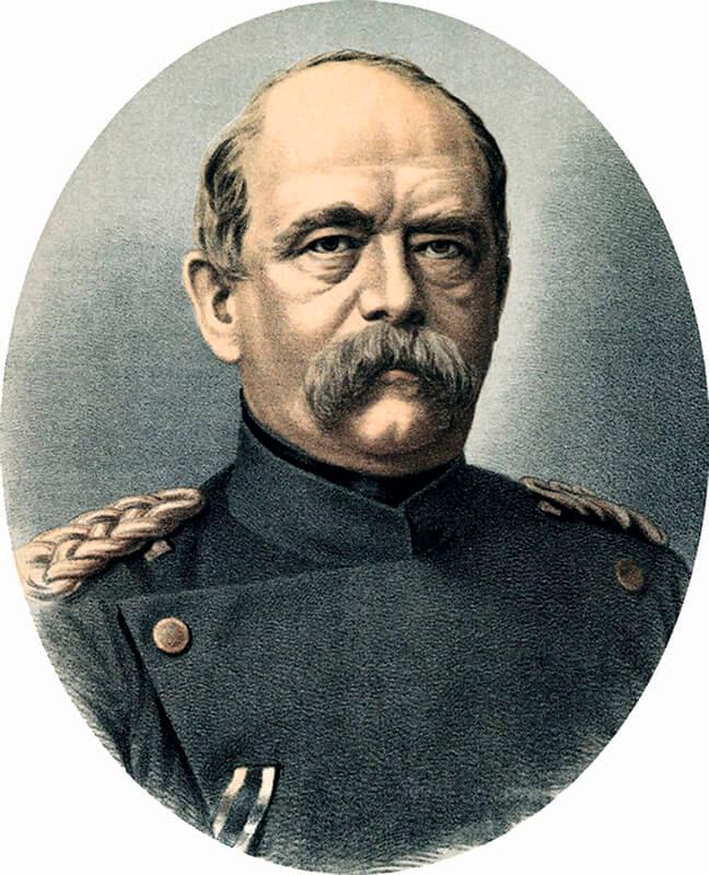 Первый канцлер Германской империи Отто фон Бисмарк  несколько раз был в Петербурге, впервые в 1859 году