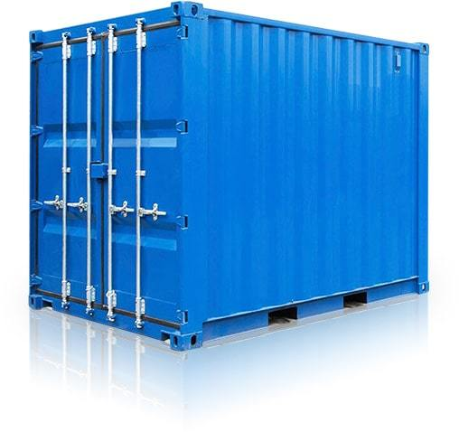 Мини склад контейнер 5 футов ячейка.