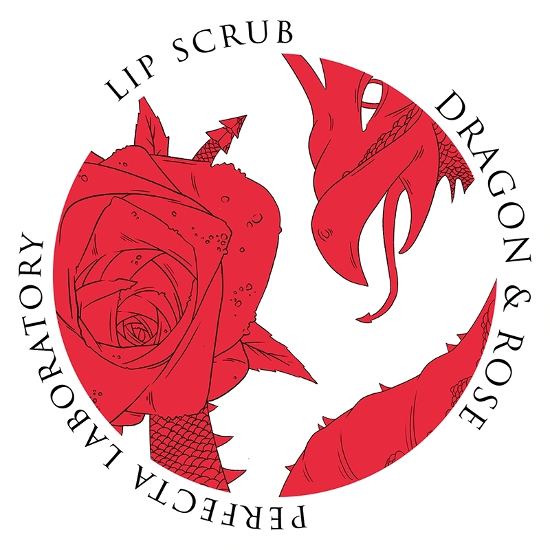 Скраб для губ DRAGON & ROSE