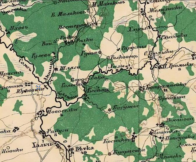 Специальная карта Европейской России» И.А. Стрельбицкого.