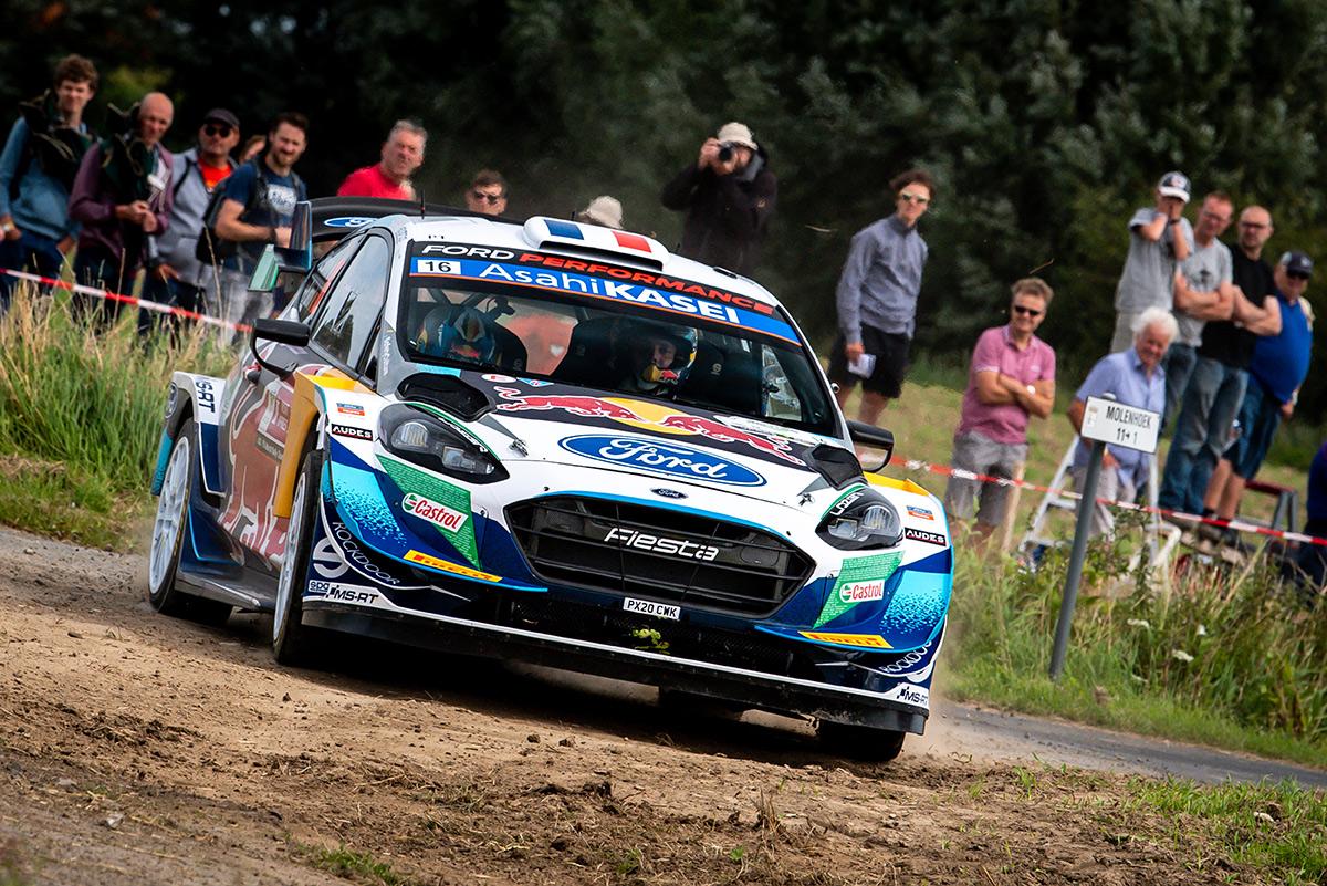 Адриен Фурмо и Рено Жамуль, Ford Fiesta WRC, ралли Ипр 2021