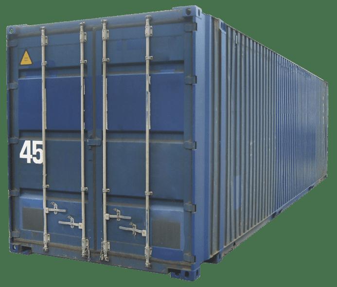 Б/У контейнер 45 футов высокий широкий HCPW