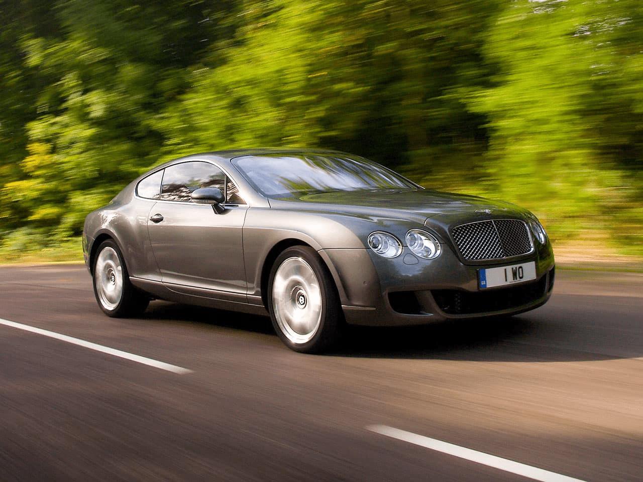 Первое поколение Bentley Continental