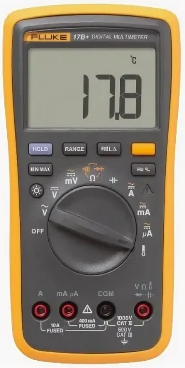 Мультиметры Fluke 15b+ и 17b+