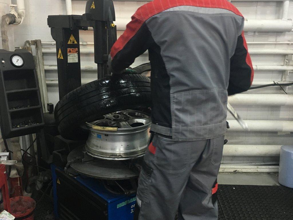 Переобувка колес