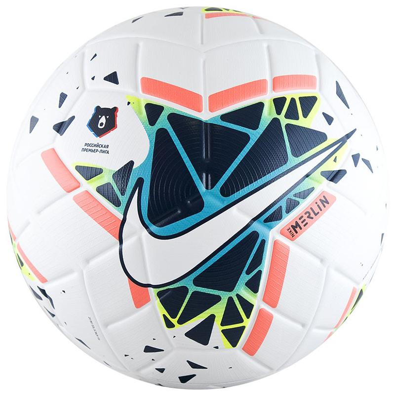 Новый футбольный мяч NIKE Merlin РПЛ