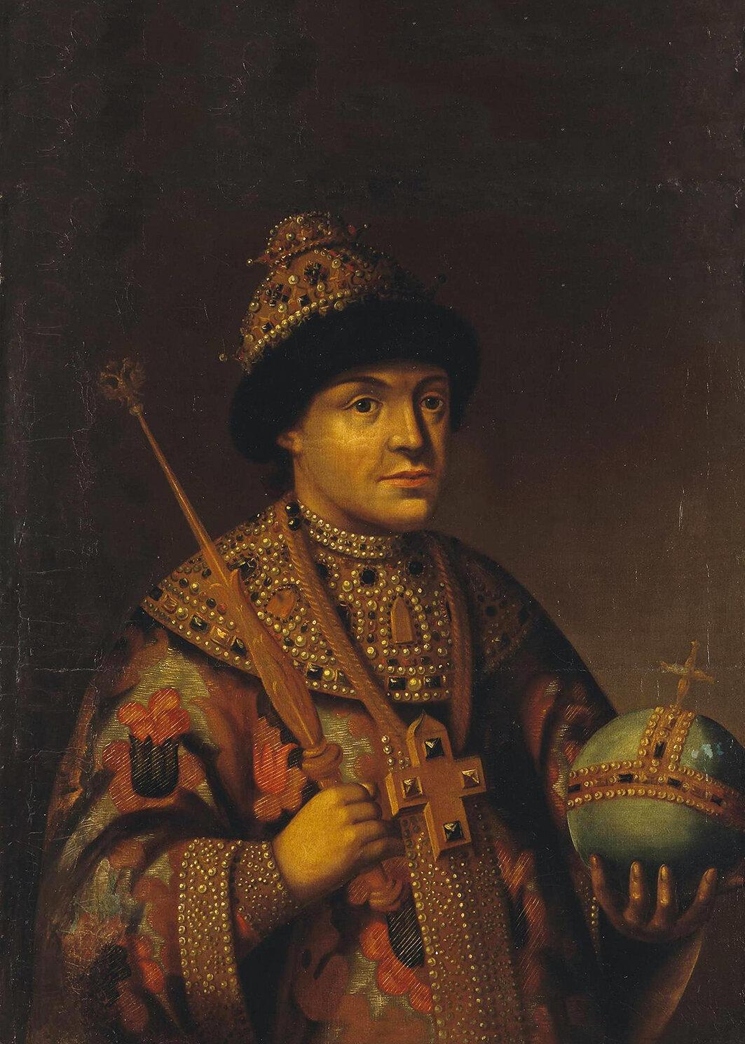 Фёдор Алексеевич Романов, брат Петра I