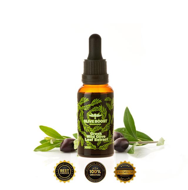 Безвреден и натурален начин да регулирате високото кръвно налягане с помощта на воден екстракт от маслинови листа Olive Boost.