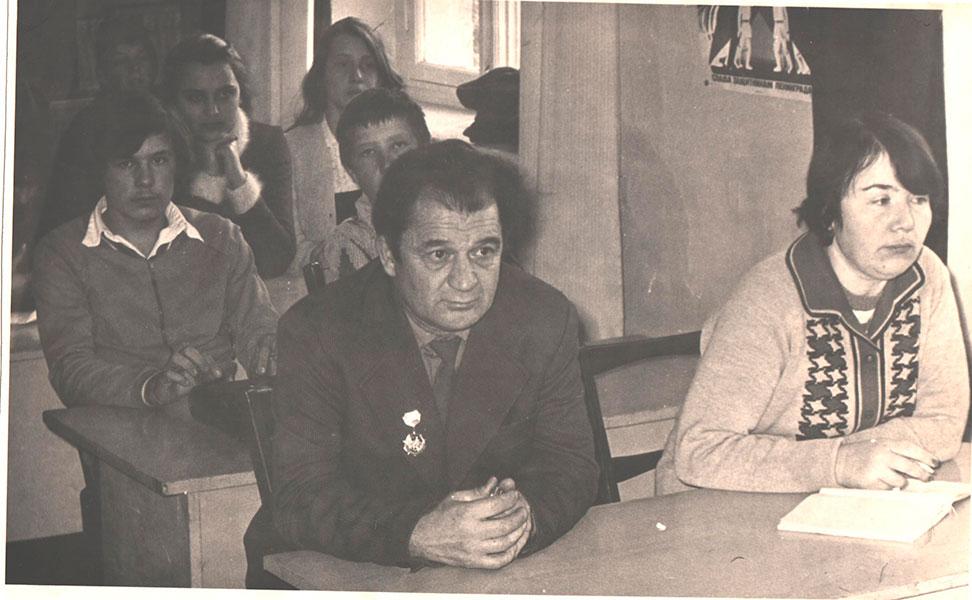 Д.П. Медведев с коллегой