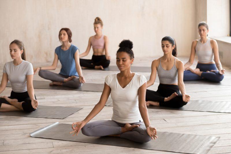 Интенсивные тренировки по йоге