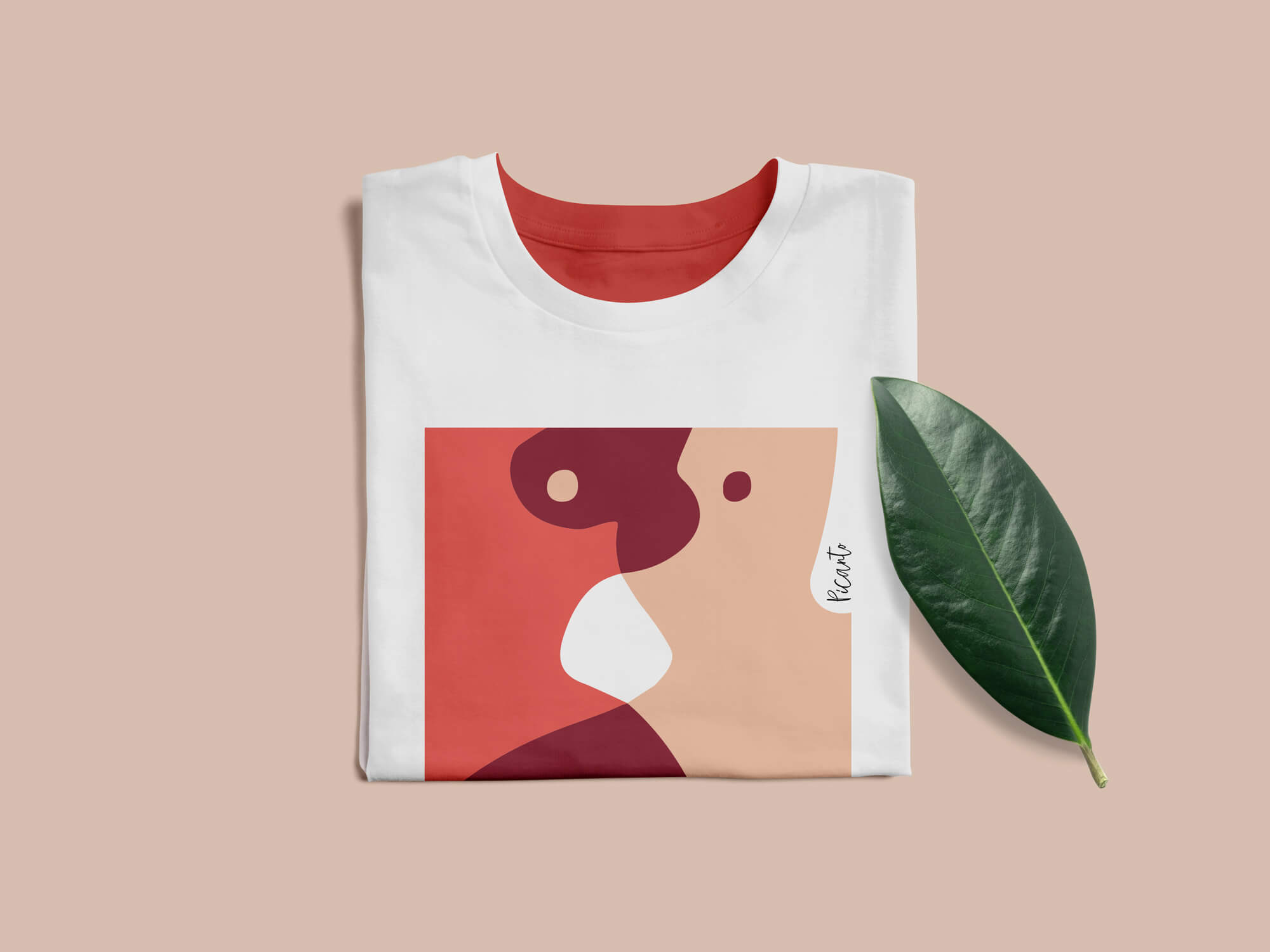 Фирменный стиль бренда Picanto - футболка