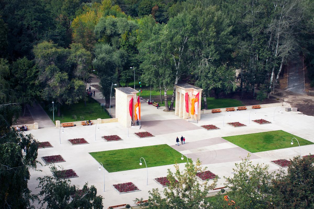 парк динамо воронеж после реконструкции фото