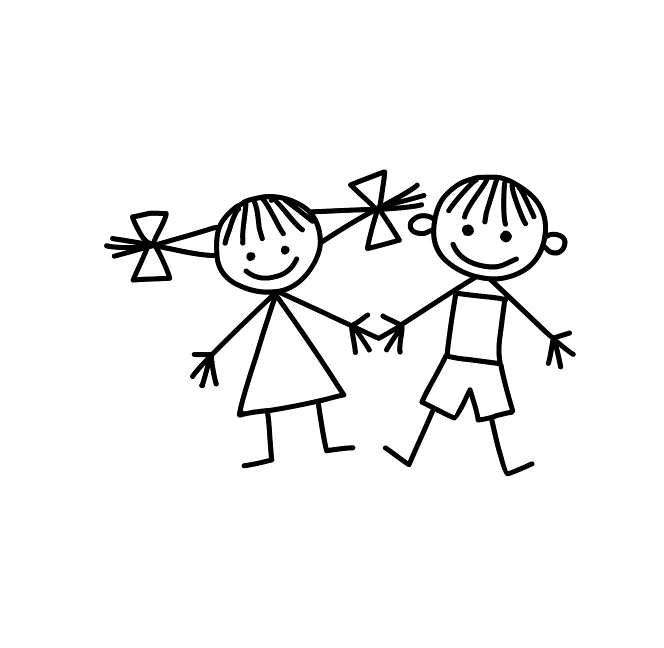 картинки символы дружбы рисовать популярности