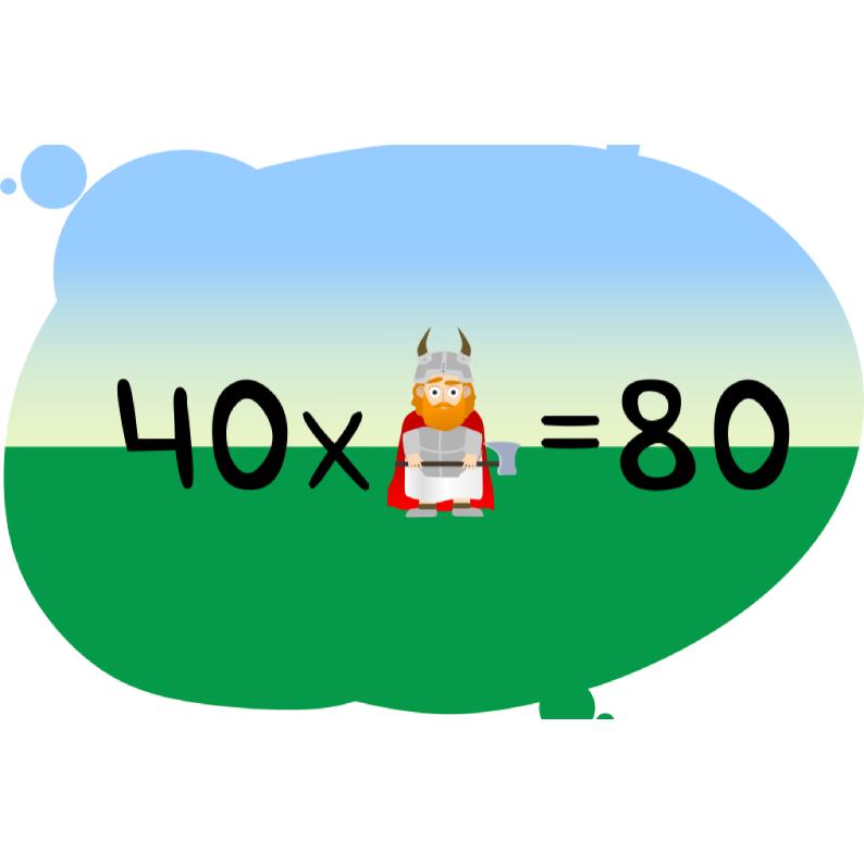 Задача с викингом на умножение и деление на 10