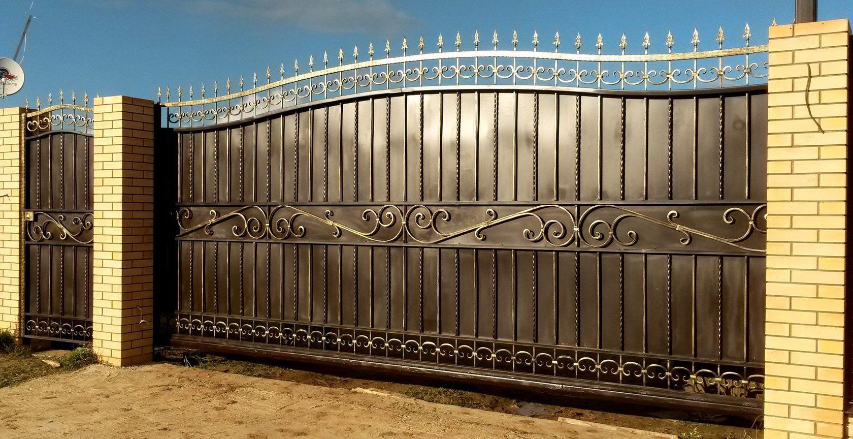 ворота из металла воронеж
