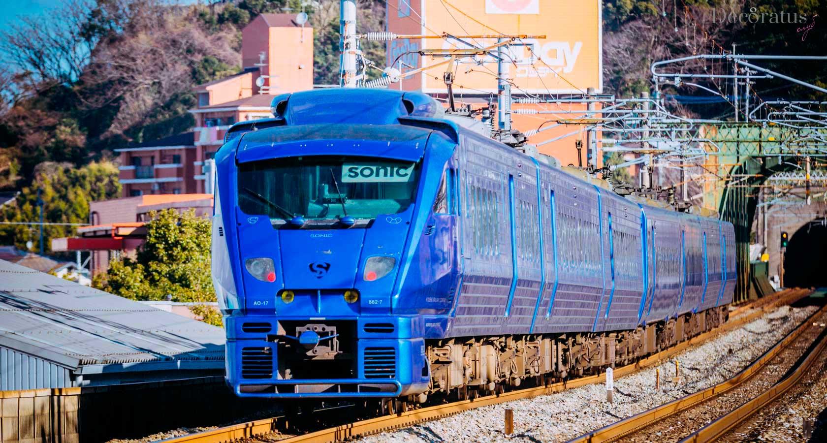 поезда японии - поезд Соник Sonic