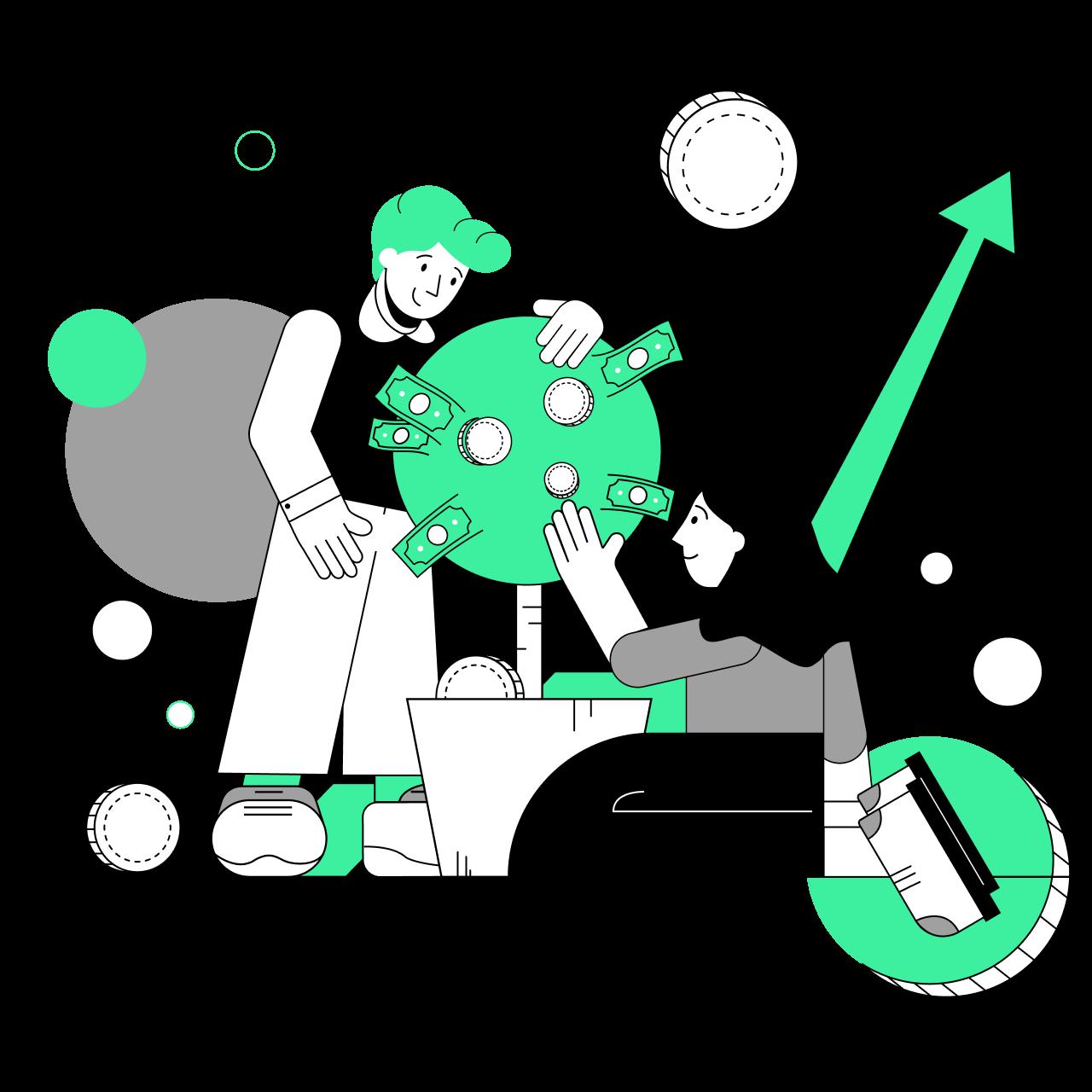 Обложка набора иллюстраций Marker на тему маркетинга, социальных медиа и рекламы