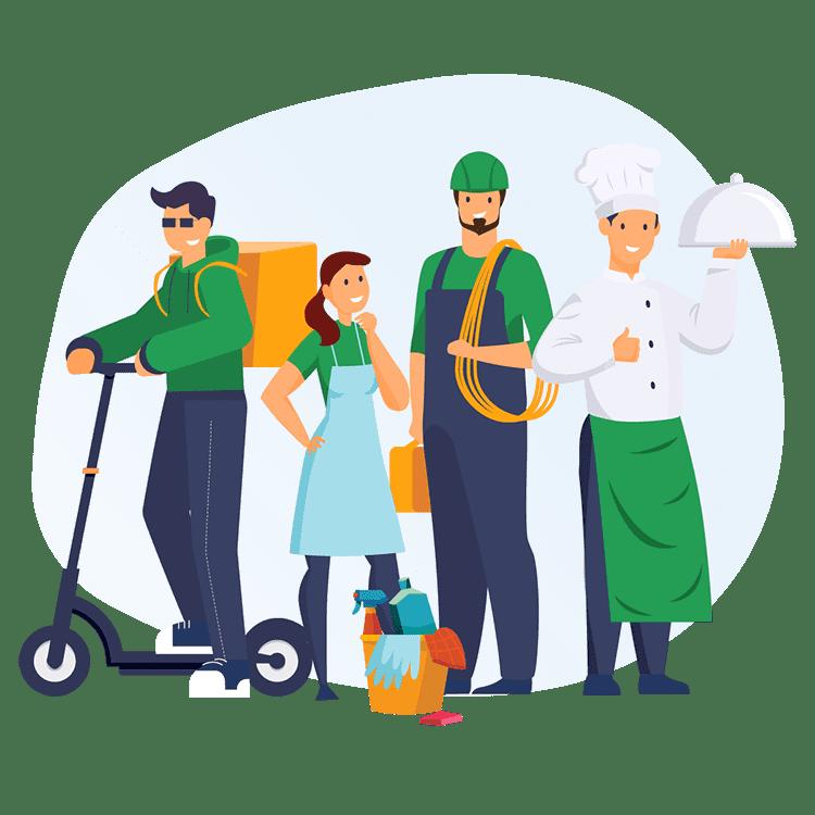 Платформа для работы с самозанятыми