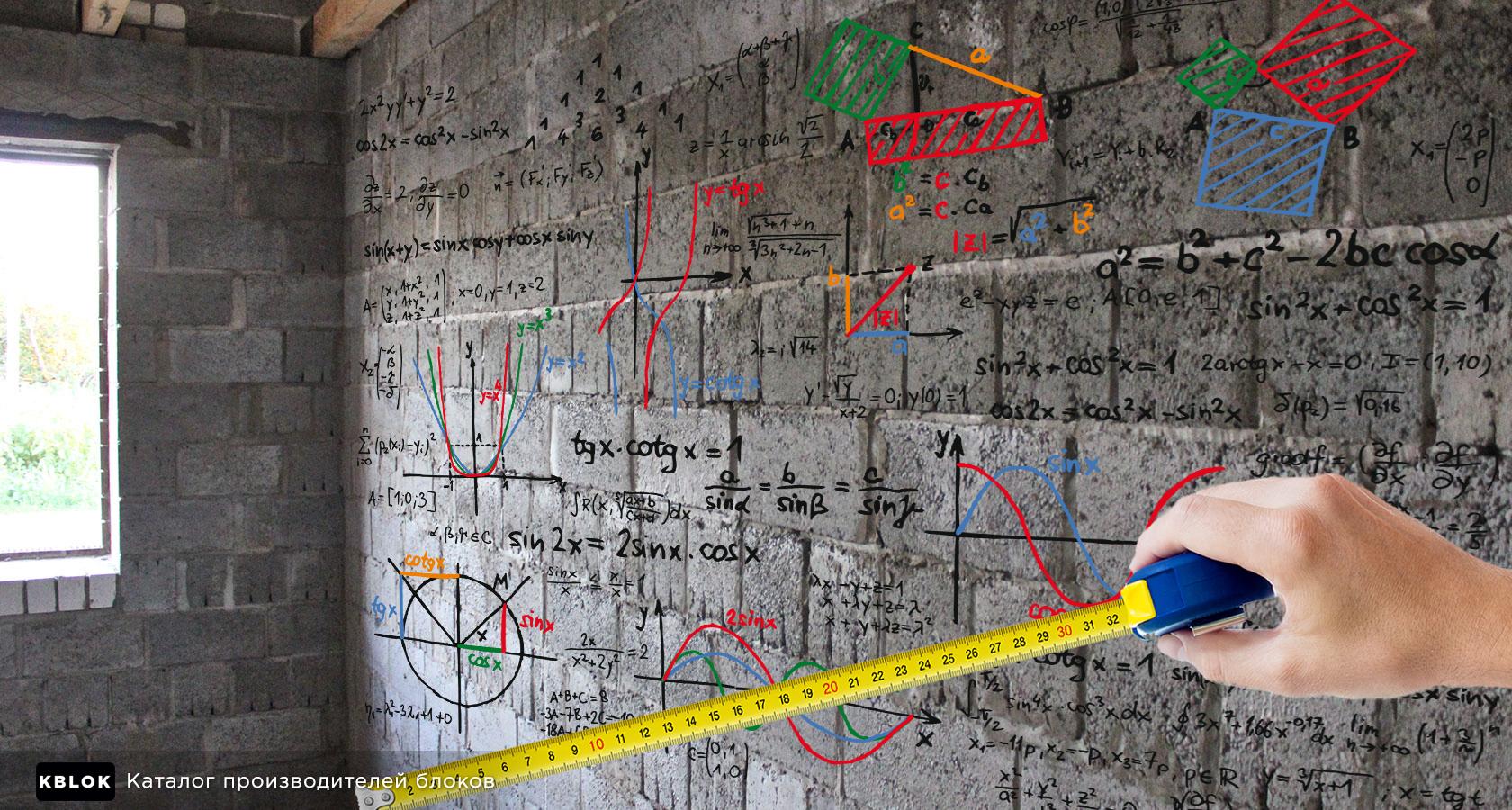Расчет толщины стены из керамзитобетона баннеры бетон