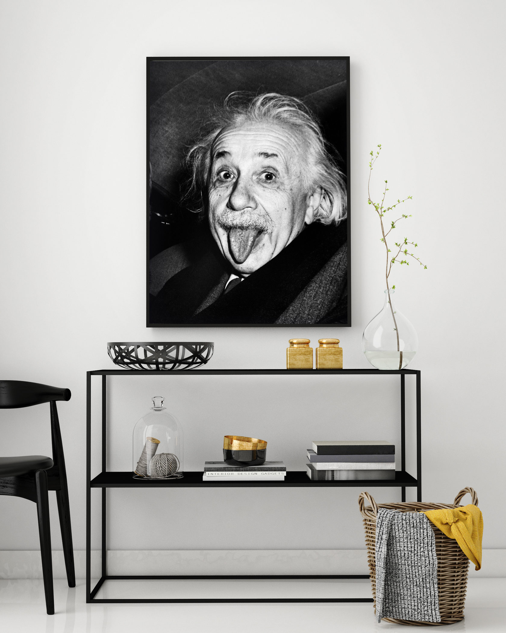 знаю, эйнштейн альберт постер всегда