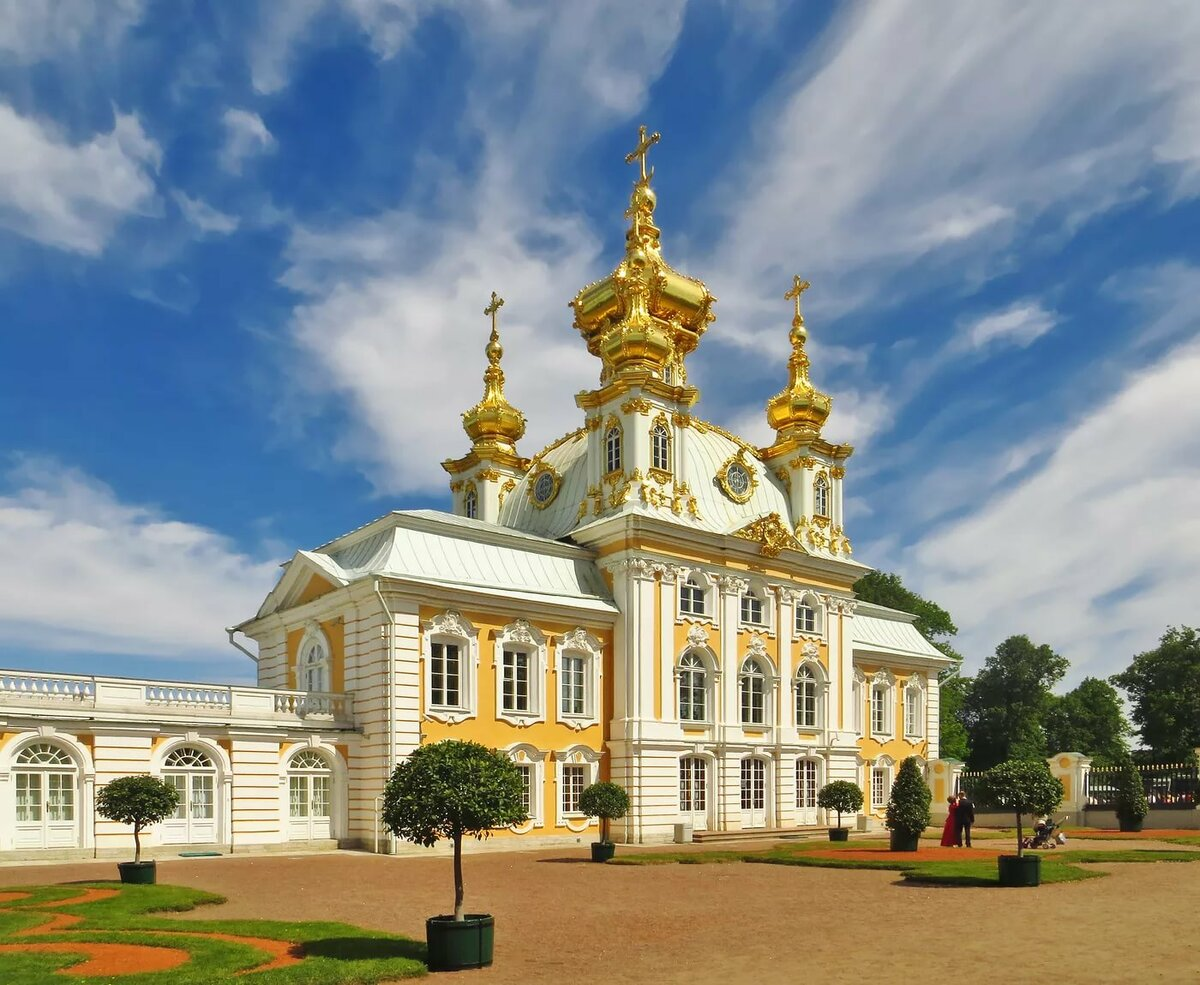 фото петергофского дворца рисунке должны