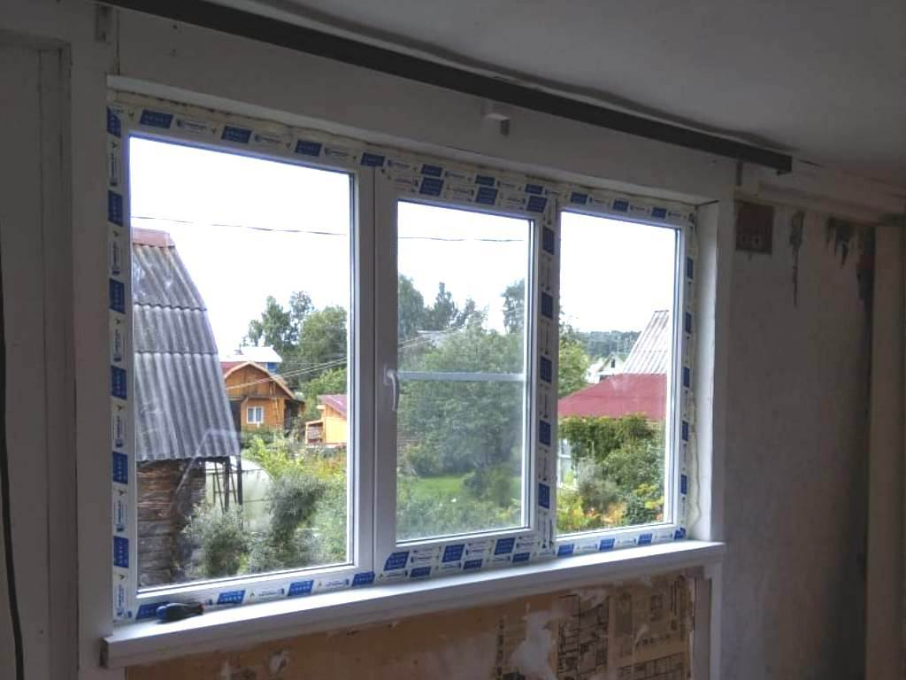 Дачное окно