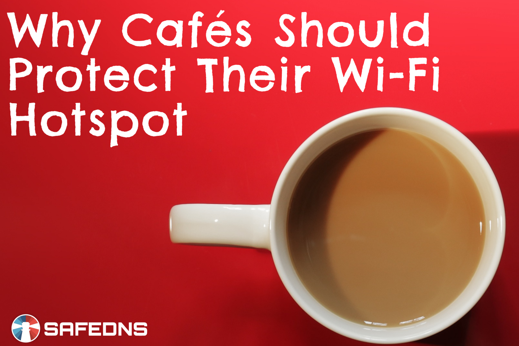 SafeDNS Wi-Fi hotspot coffee