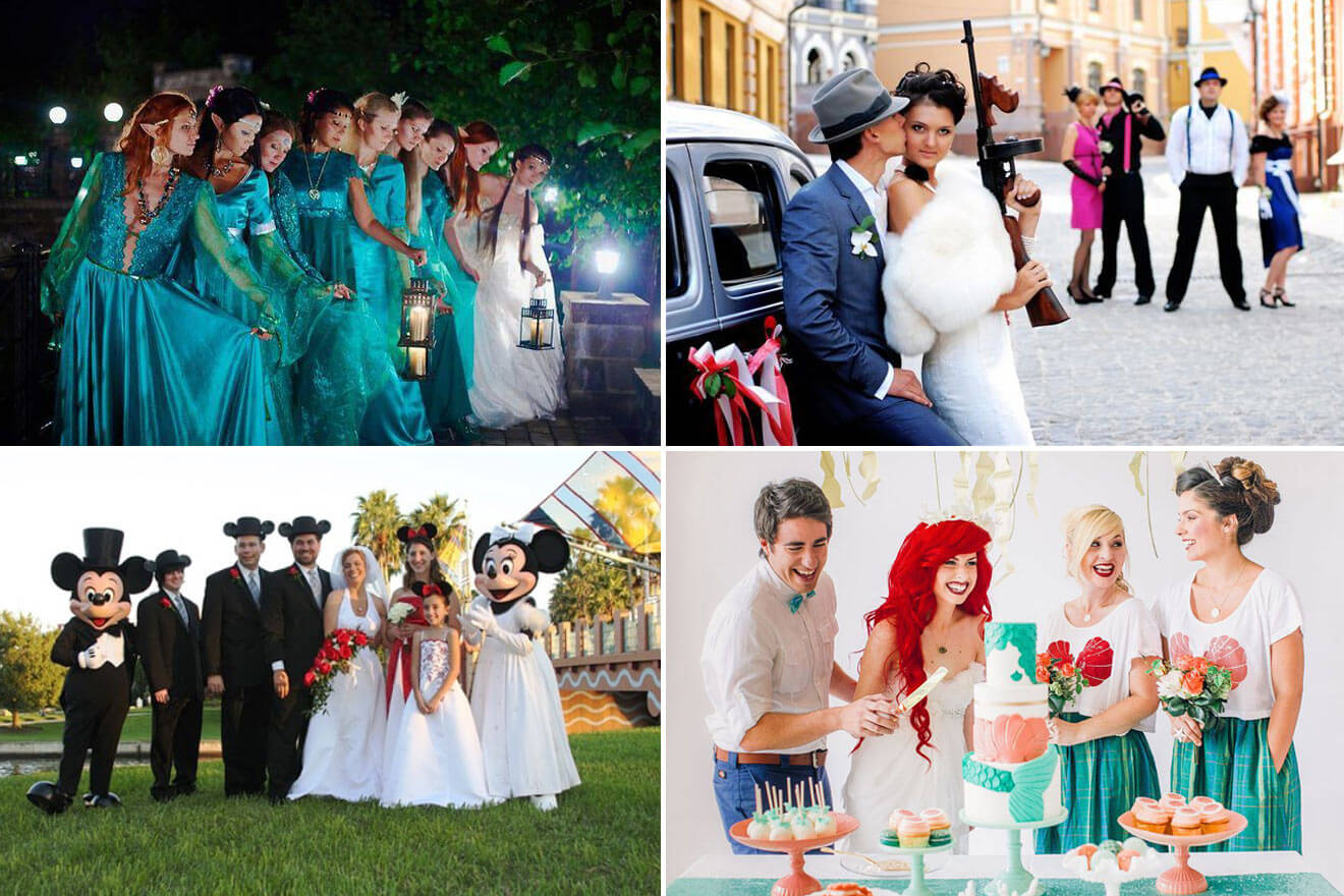 Стили свадебной фотосессии