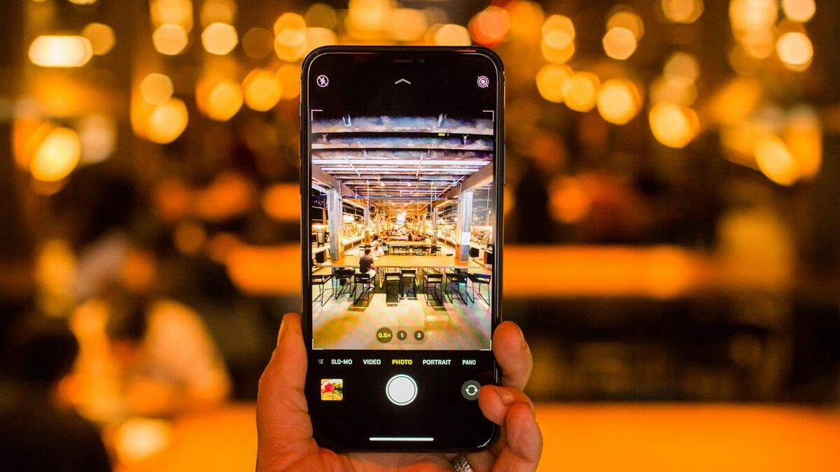 При помощи айфон 11 качественные кадры можно получить даже ночью
