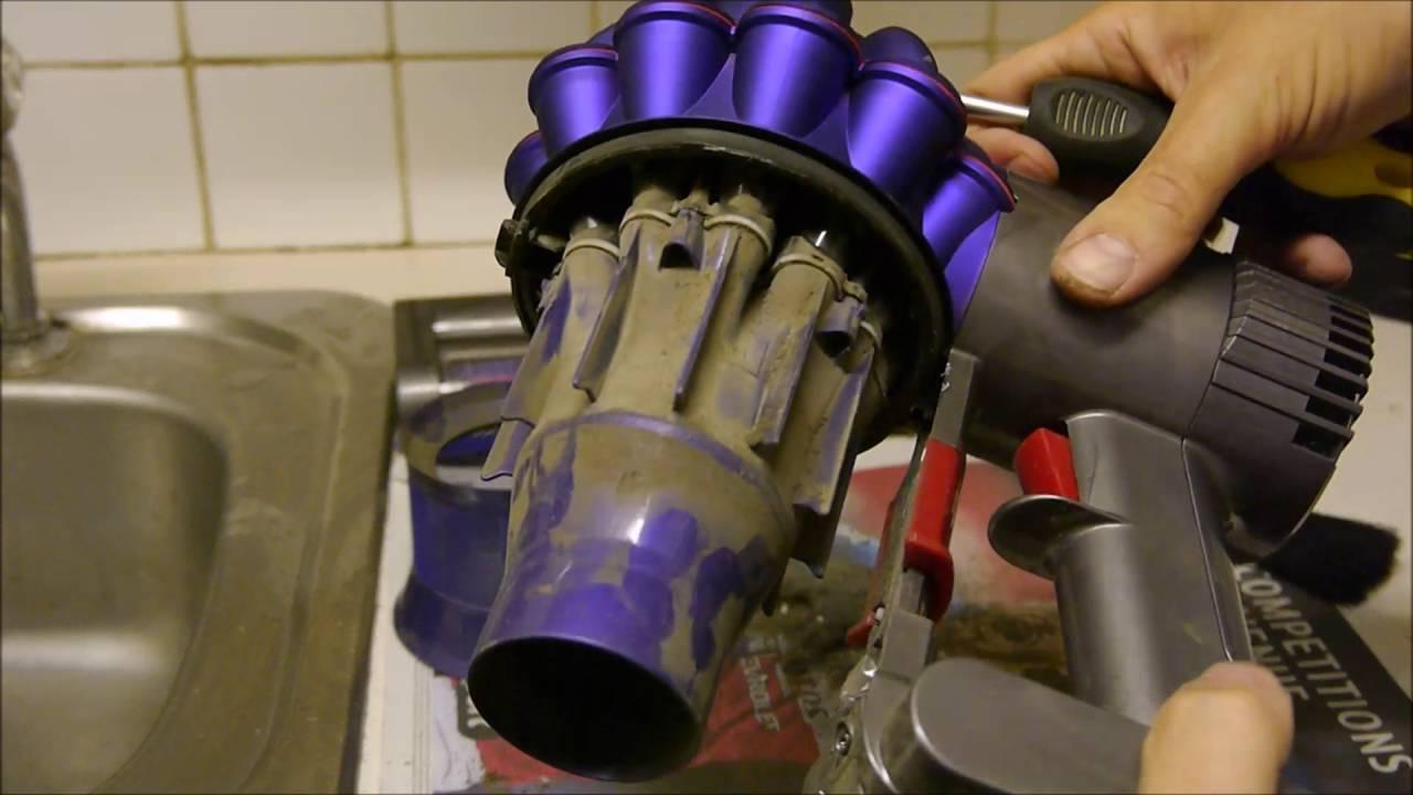 Как помыть фильтр dyson зарядное устройство dyson dc34