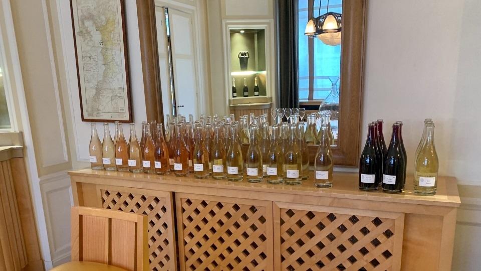 Tasting Cristal vins clairs, parcel by parcel