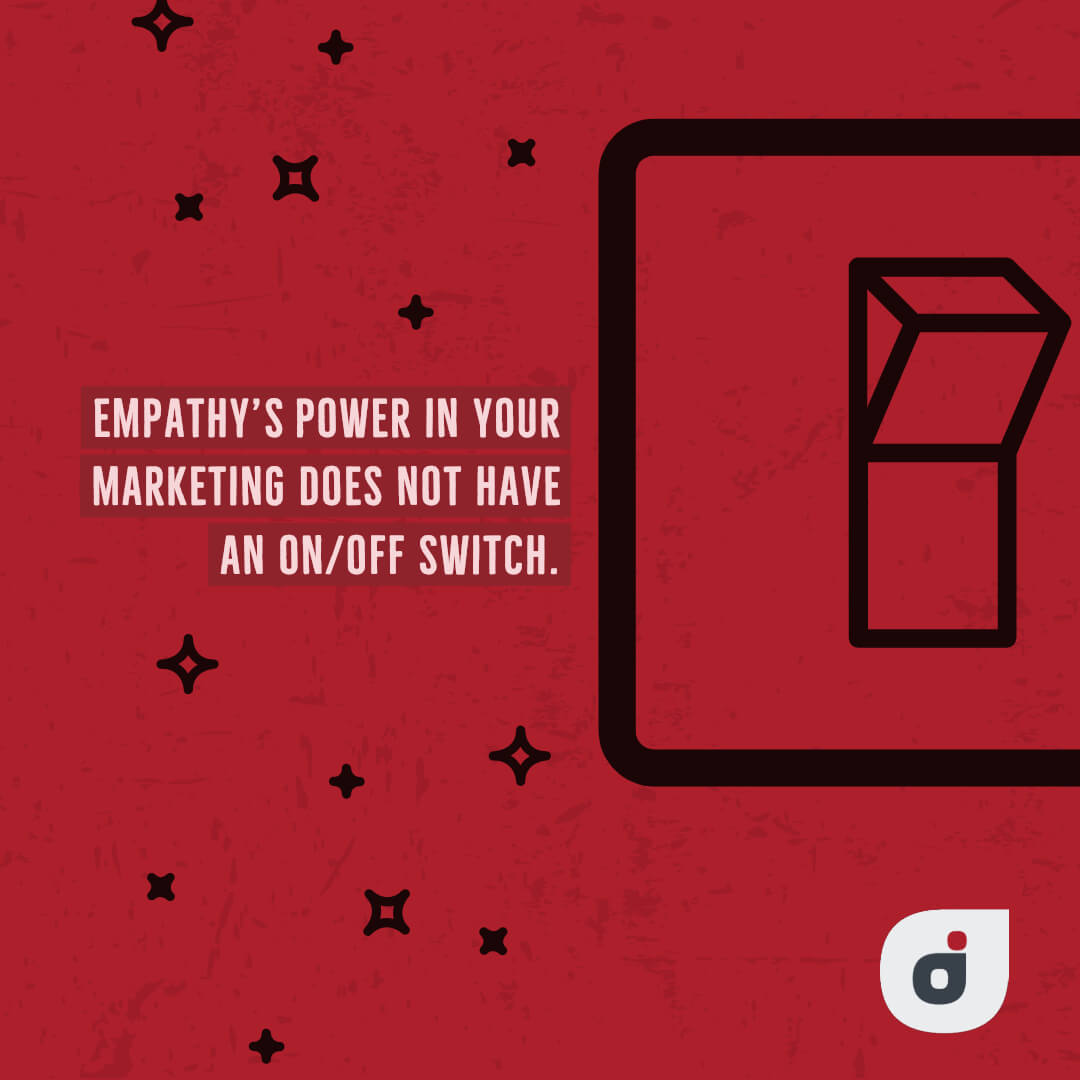 marketing plan quote highlighting the power of empathy in your marketing plan