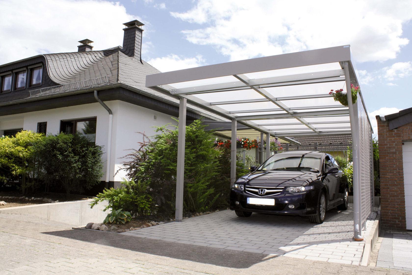 место для парковки на даче