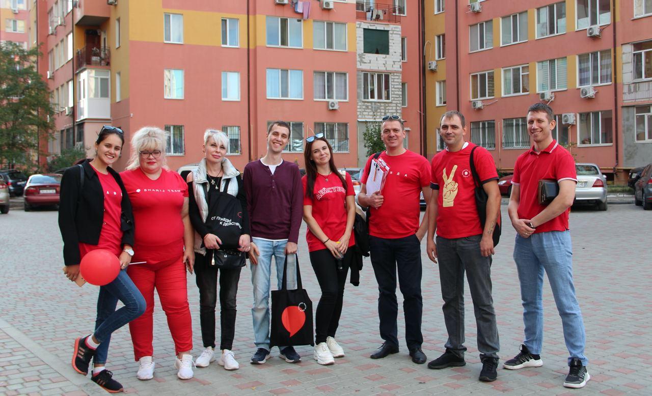 Кандидаты в депутаты от Партии Шария в Одессе