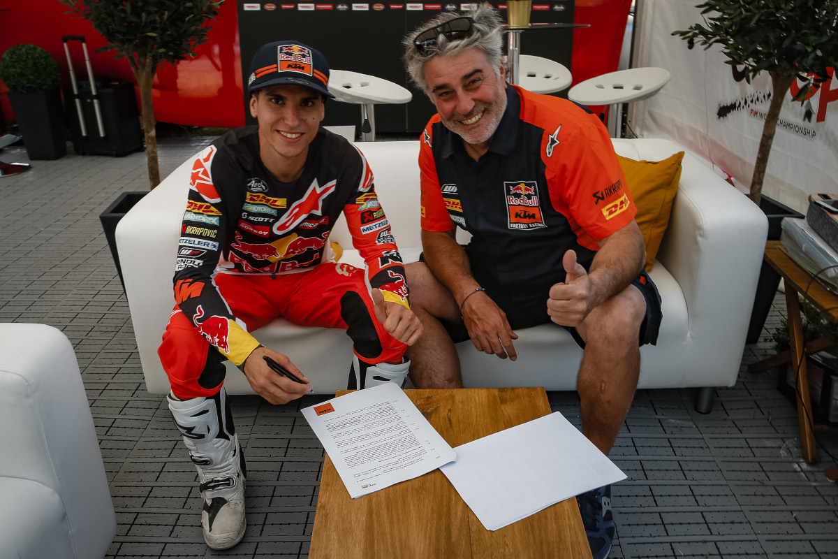 Хосеп Гарсия продлевает контракт с Red Bull KTM Factory Racing