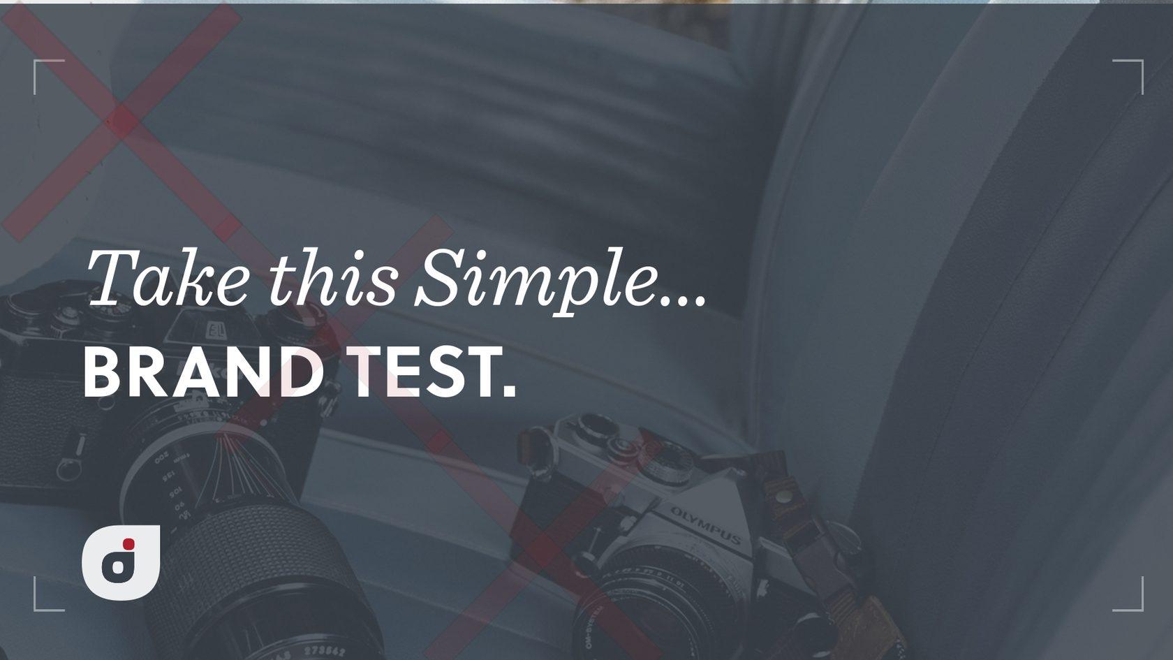Take this Brand Test