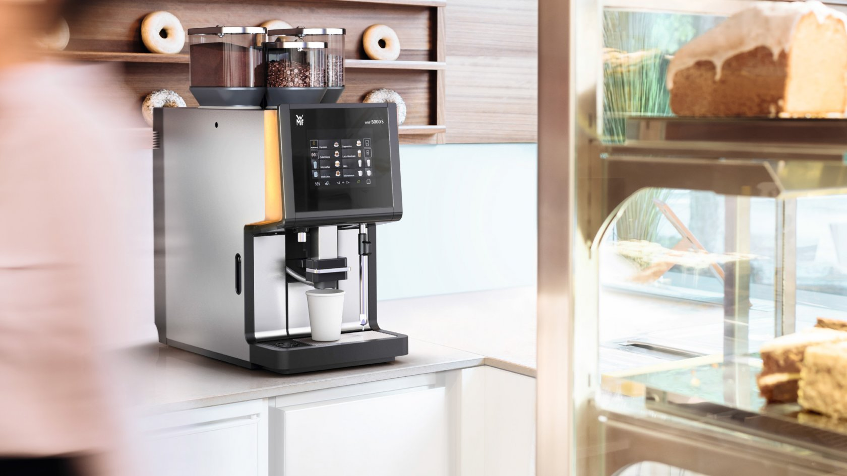кофемашина wmf 5000s кафе