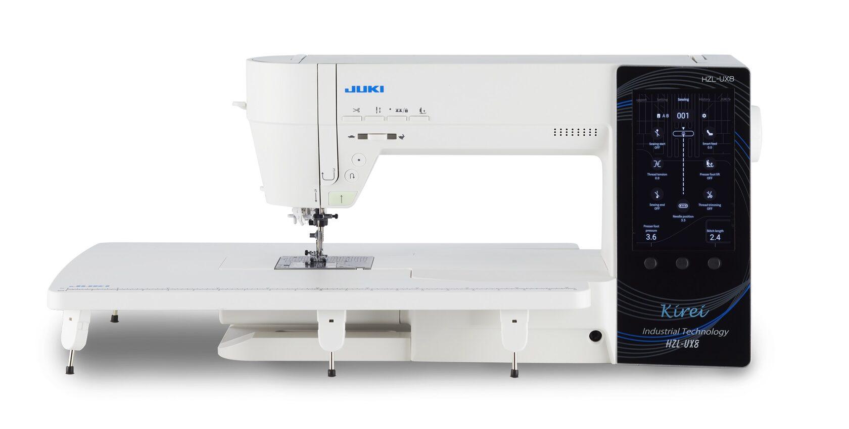 Juki Kirei HZL-UX8 – швейная машина нового поколения