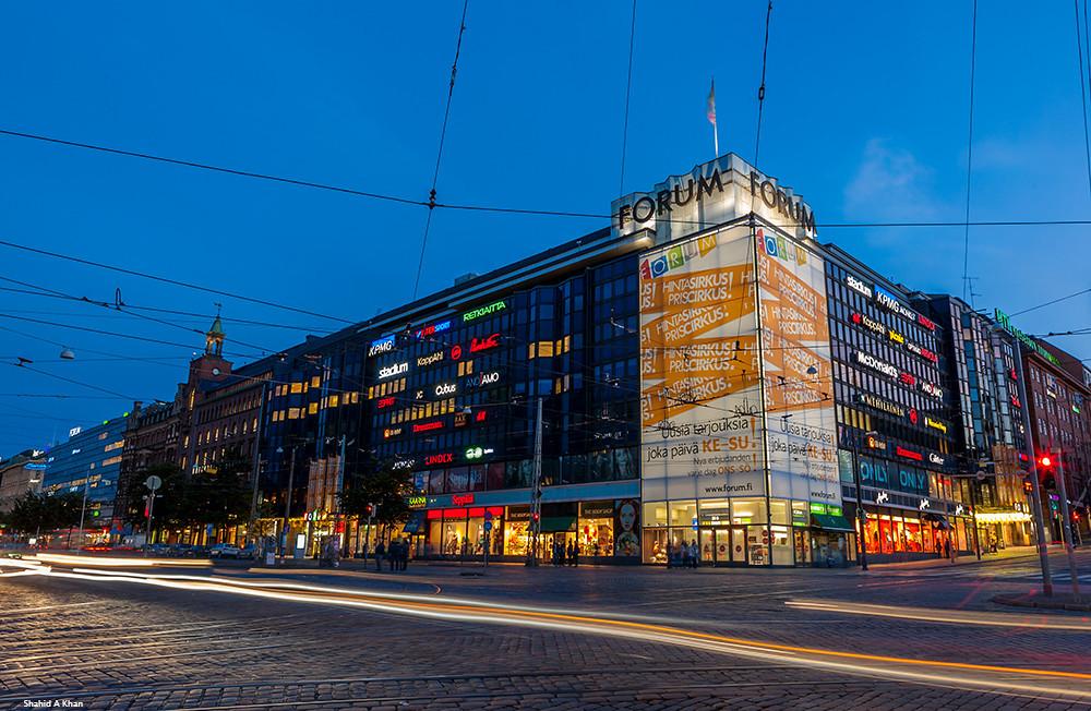 Forum Shopping Center - Торговый центр в Хельсинки