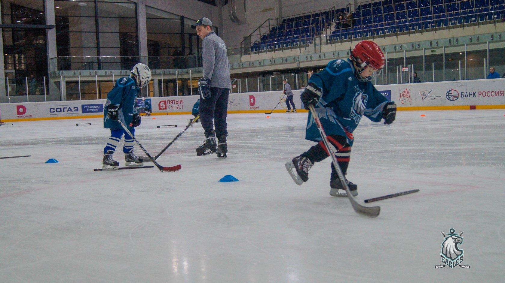Набор в хоккейную школу Eagles