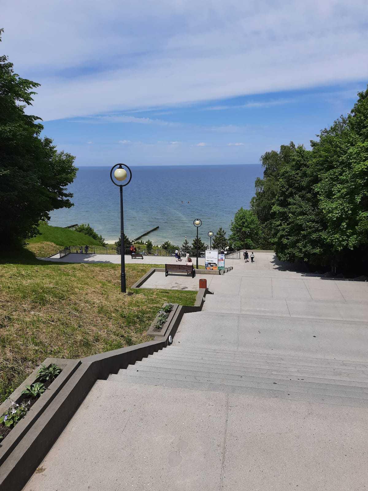 Лестница длиной почти в 300 ступеней